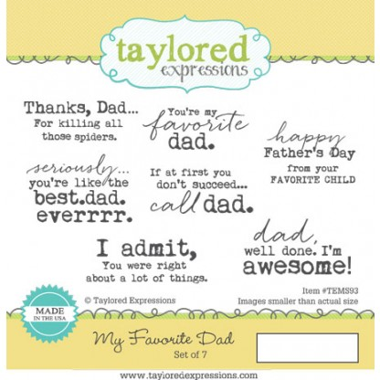Taylored Expressions - My Favorite Dad