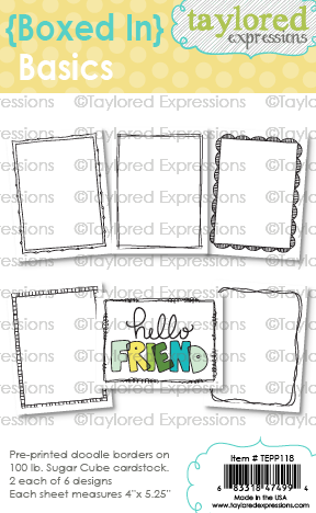 *NEW* - Taylored Expressions - {Boxed In} Basics