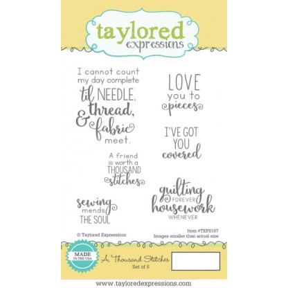 Taylored Expressions - A Thousand Stitches