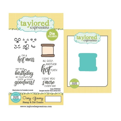 Taylored Expression - Ooey Gooey Stamp & Die Combo