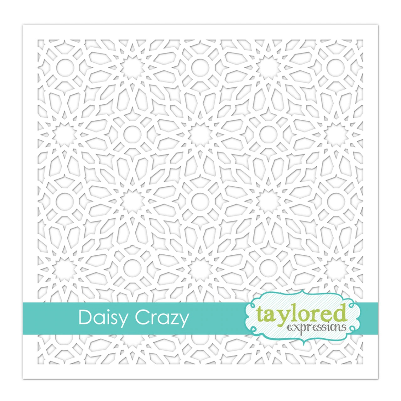 *NEW* - Taylored Expression - Daisy Crazy Stencil
