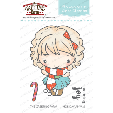 The Greeting Farm-  Holiday Anya 5 - clear