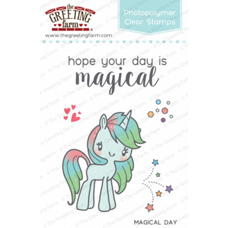 The greeting farm magical day clear stamp set the greeting farm the greeting farm magical day clear stamp set m4hsunfo