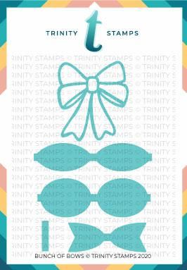 *NEW* - Trinity Stamps - Bunch of Bows Die Set