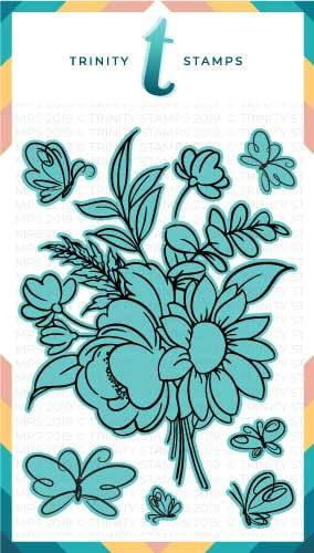 *NEW* - Trinity Stamps - Blooming Bunch Coordinating Die set
