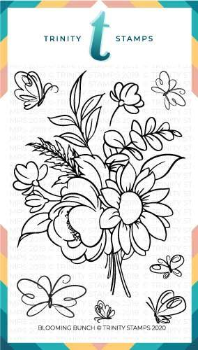 *NEW* - Trinity Stamps - Blooming Bunch Stamp Set (4x6)