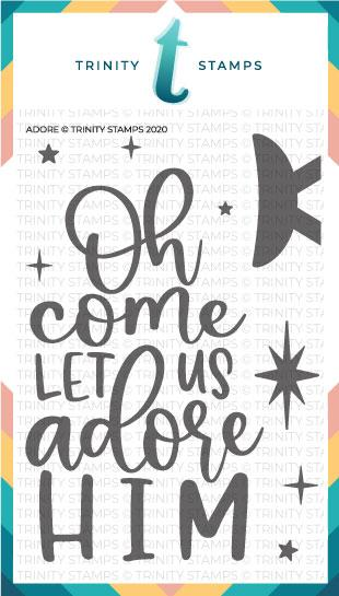 *NEW* - Trinity Stamps - Adore Stamp Set (4x6)