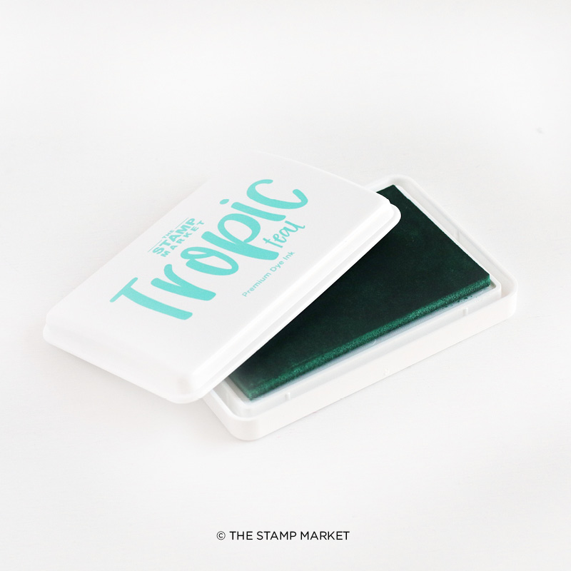 The Stamp Market - Color Crush Ink Pads  - Tropic Teal