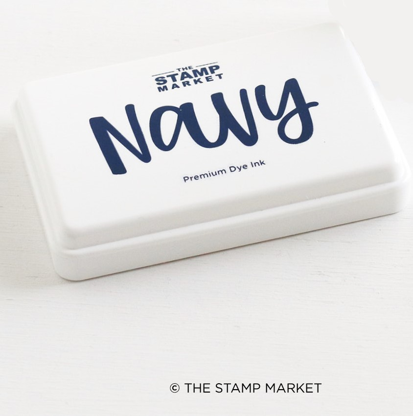 The Stamp Market - Color Crush Ink Pads  - Navy