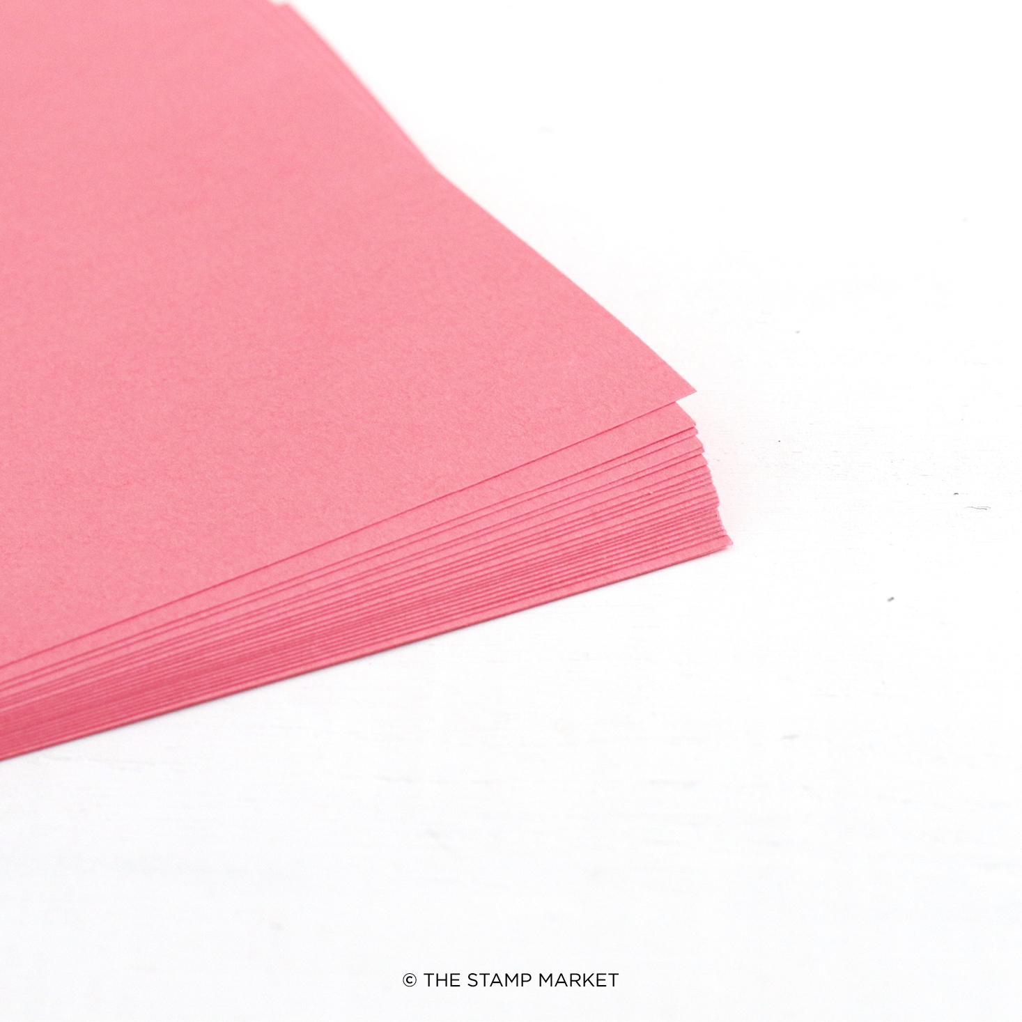 The Stamp Market - Color Crush Cardstock (5 Sheets Each) - Bubble Gum