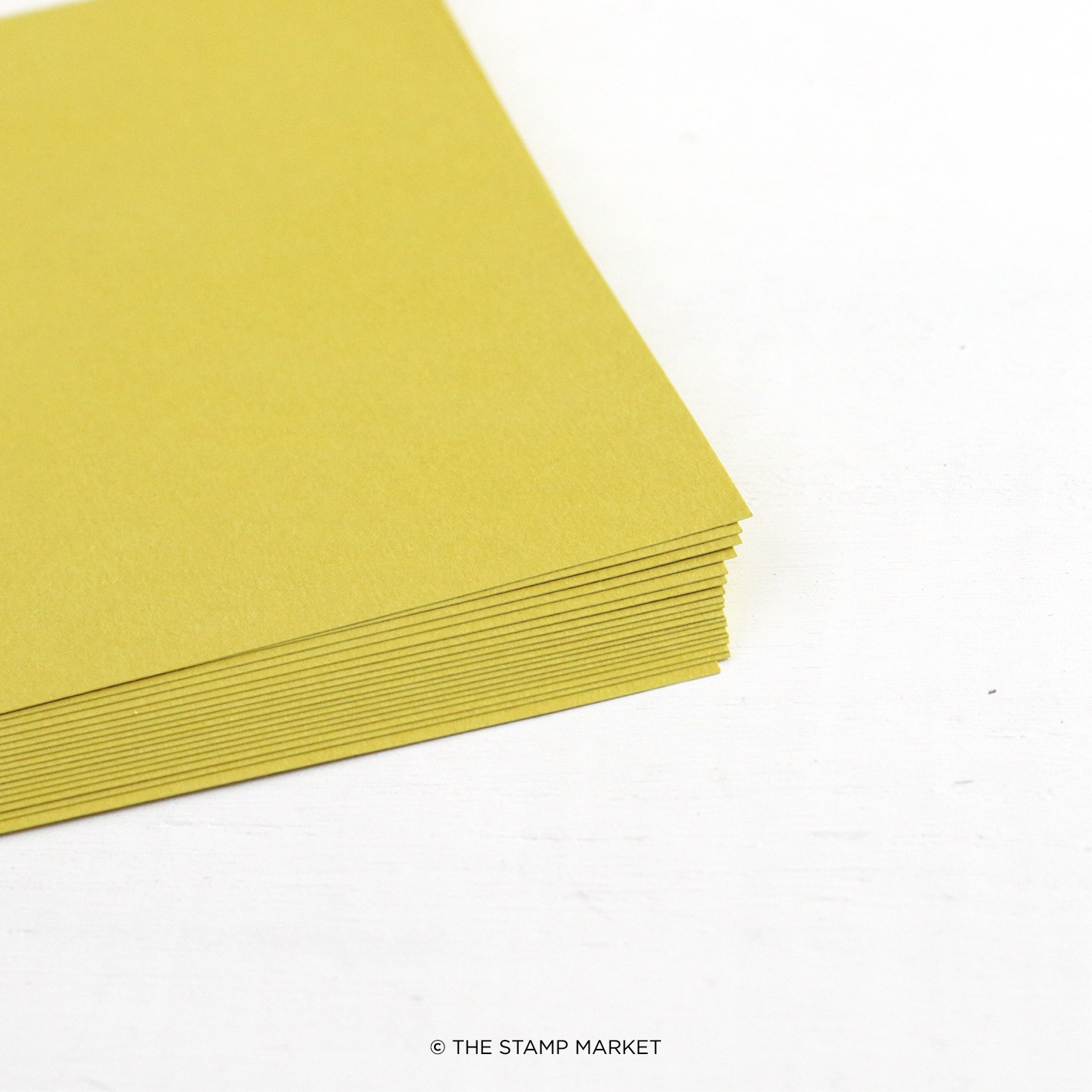 The Stamp Market - Color Crush Cardstock (5 Sheets Each) - Citrine