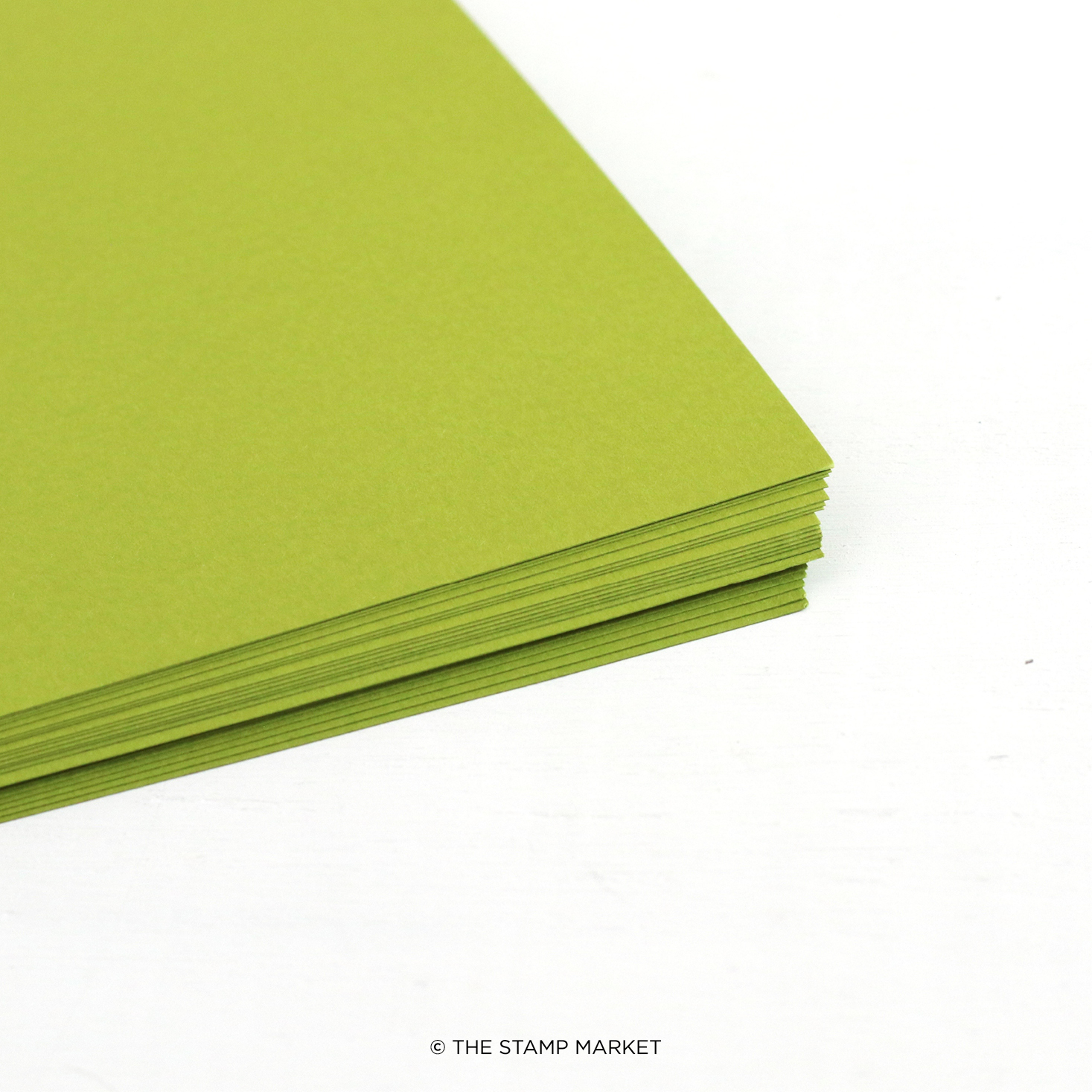 The Stamp Market - Color Crush Cardstock (5 Sheets Each) - Leafy