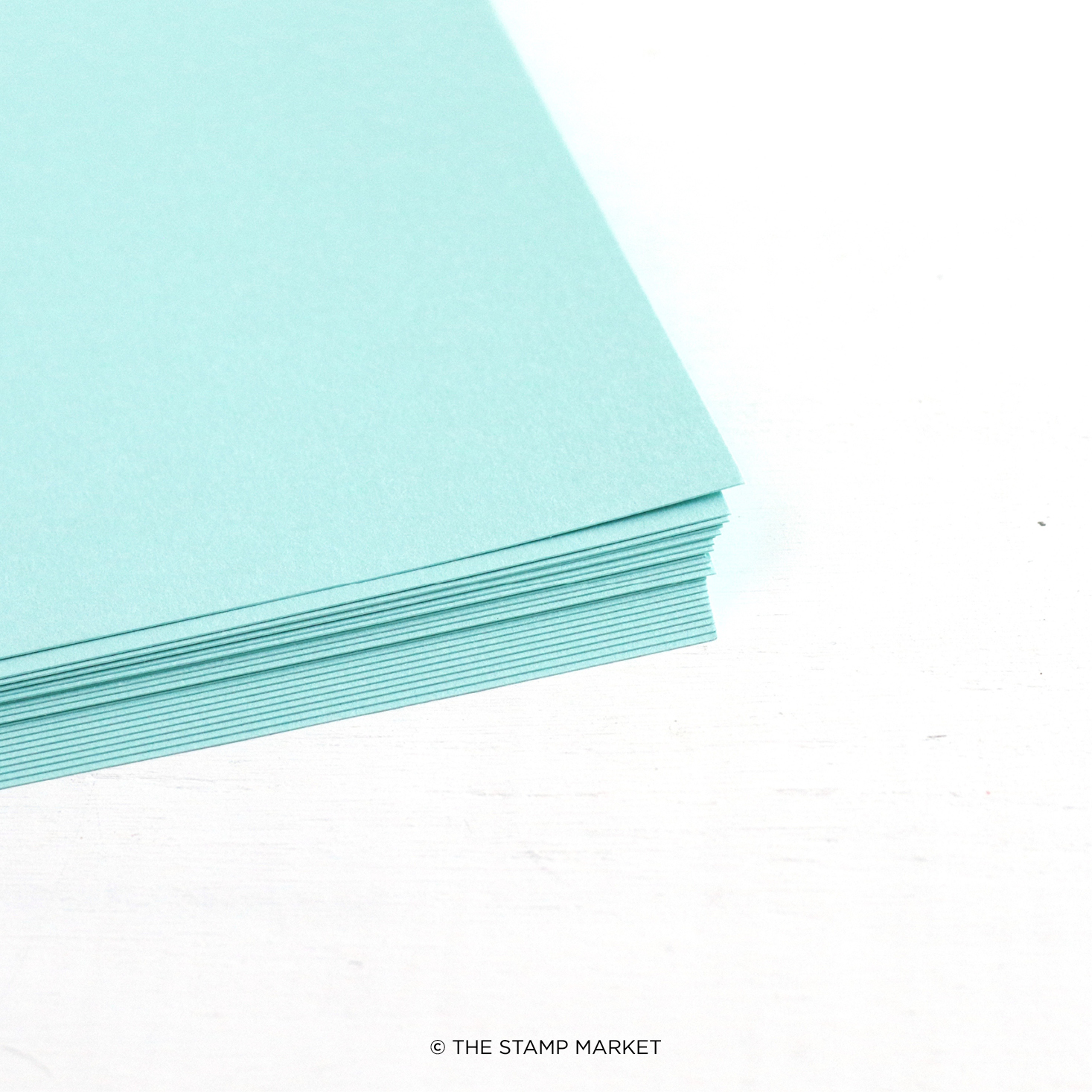 The Stamp Market - Color Crush Cardstock (5 Sheets Each) - Sea Glass