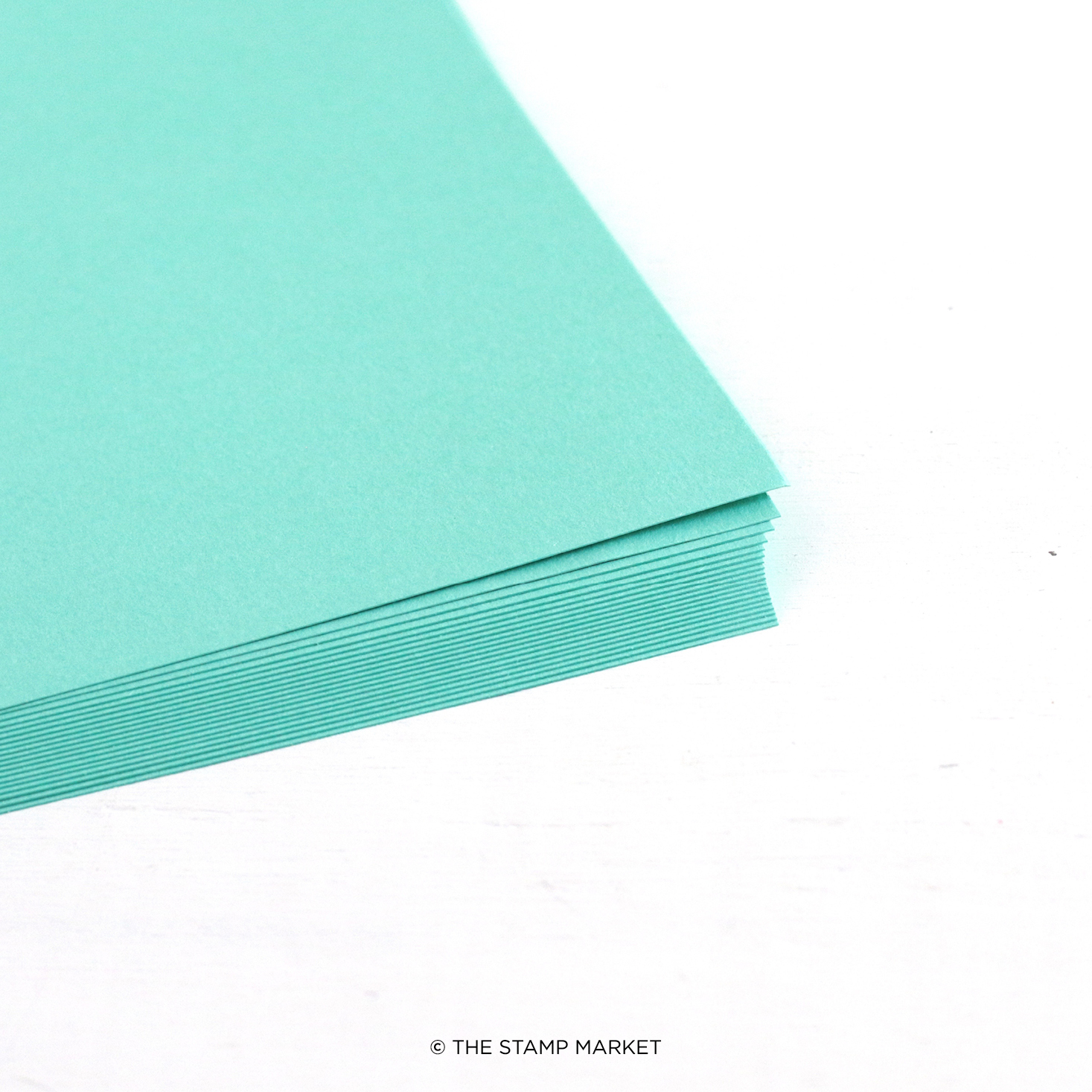 The Stamp Market - Color Crush Cardstock (5 Sheets Each) - Tropic Teal