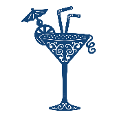 Tattered Lace - Cocktail Glass