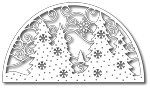 Tutti Designs- Fir Trees Arch Scene