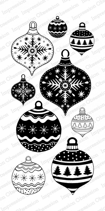 ## xmas ## Impression Obsession - Festive Ornaments