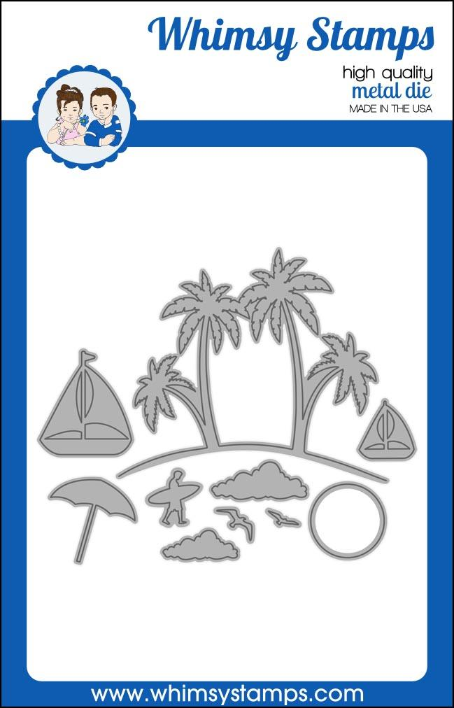 ###Whimsy Stamps - Build-an-Island Die Set