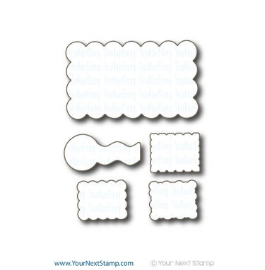 Your Next Stamp - Cute Postcard Die set