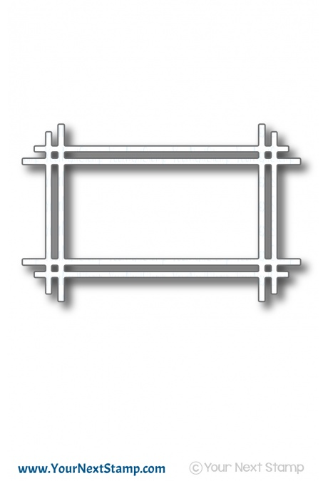 *PRE-ORDER* - Your Next Stamp - Rectangle Stick Frame Die