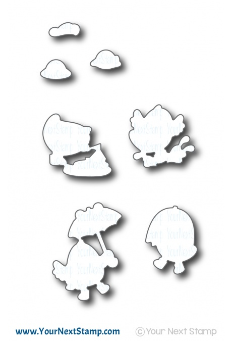 *NEW* - Your Next Stamp - Puddles of Fun Die Set