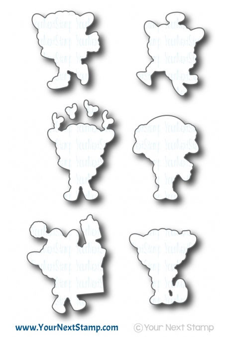 Your Next Stamp - Fleece Navidad Die Set