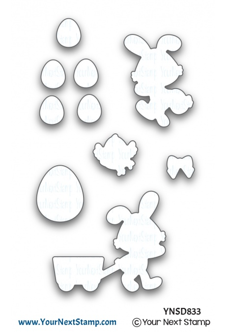 Your Next Stamp - Egg Hunt Die Set