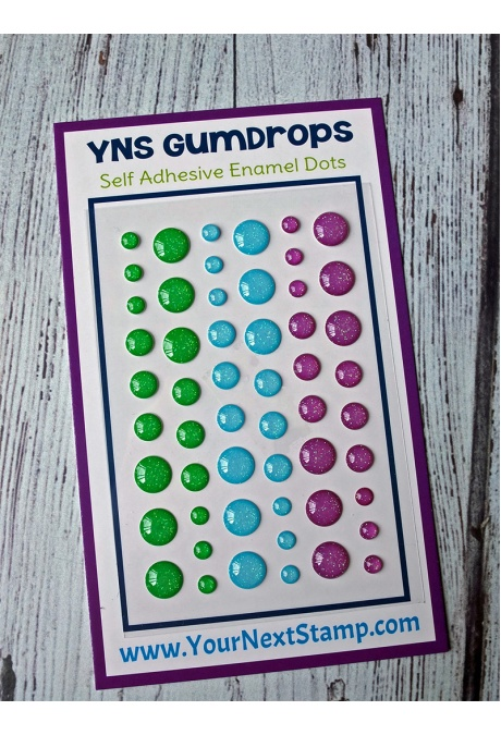 Your Next Stamp - Gumdrops - Fairy Magic Sparkly