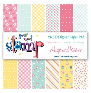 Your Next Stamp - Hugs and Kisses Paper Pad