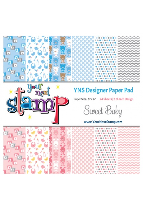 *NEW* - Your Next Stamp - Sweet Baby Paper Pad