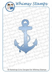Whimsy Stamps - Anchor Die - Shapeology Dies