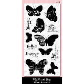 *SALE* My Favorite Things - Blissful Butterflies Stamp PLUS MATCHING DIE