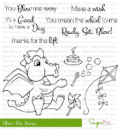 SugarPea Designs - Blow Me Away Stamp Set