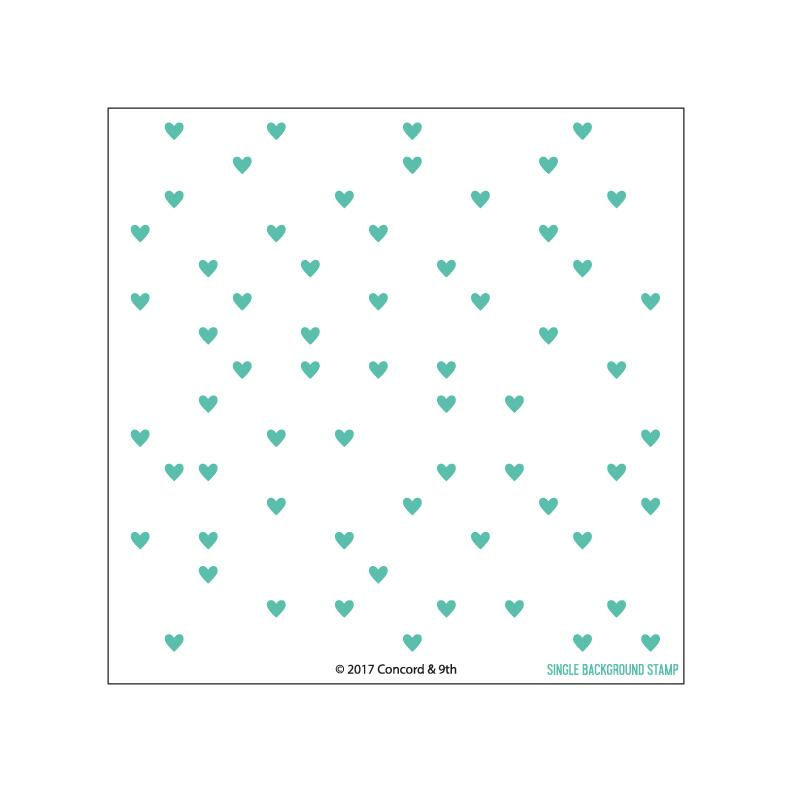 *PRE-ORDER* - Concord & 9th - Heart Turnabout stamp