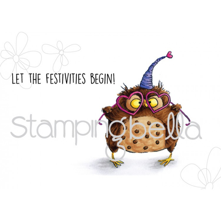Stamping Bella - Owliver Loves to Celebrate