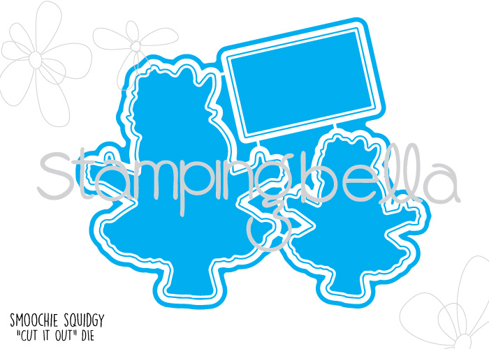*SALE* Stamping Bella - Smoochie Squidgie Cut It Out Die