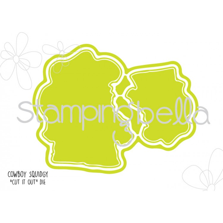 Stamping Bella - Cowboy Squidgy CUT IT OUT DIE