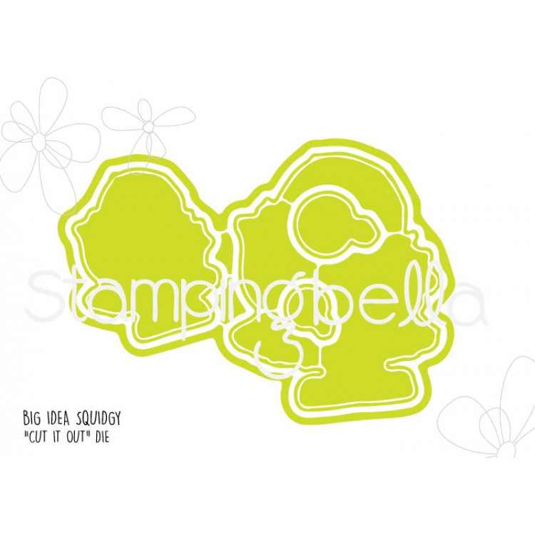 Stamping Bella - Big idea Squidgy CUT IT OUT DIE