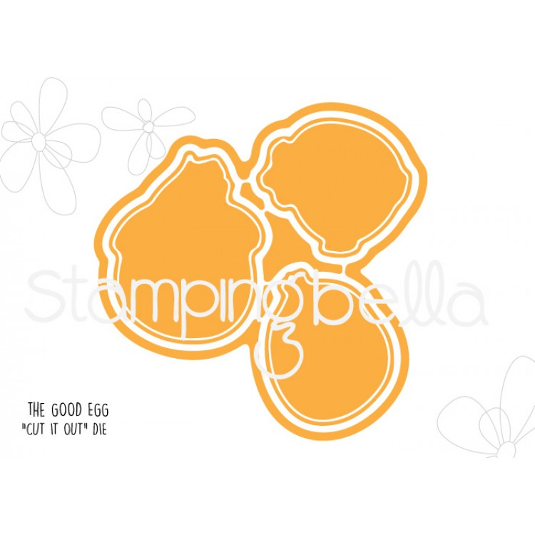 *NEW* - Stamping Bella - The good egg Chick CUT IT OUT DIE