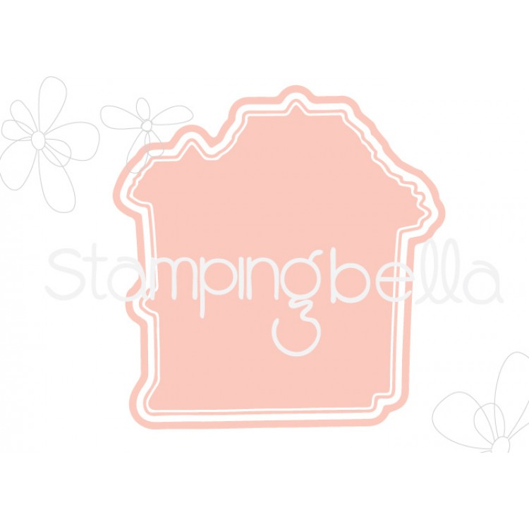 Stamping Bella - Little Bits, haunted house CUT IT OUT DIES