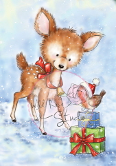 ## xmas ## Bluebell and Presents