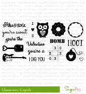 SugarPea Designs - Classroom Cupid Stamp Set