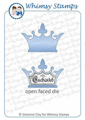 Whimsy Stamps - Crown Die - Shapeology Dies