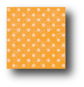 Distressed Dots - Mango - 8.5 x 11