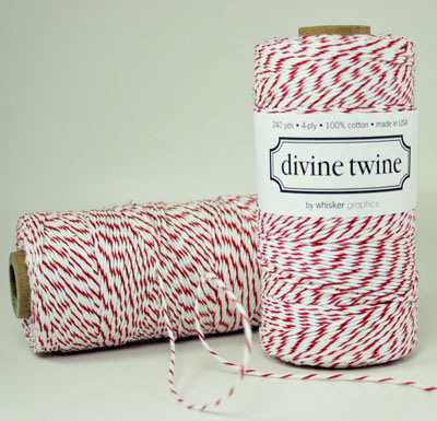 Divine Twine - Cherry - 10 yards