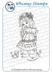 ###Whimsy Stamps - Pretty Kitty - Elisabeth Bell