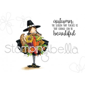 Stamping Bella - Tiny Townie Casey has a Cornucopia