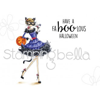 Stamping Bella - Uptown Girl Kitty loves Halloween