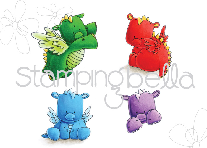 Stamping Bella - Set of Dragons