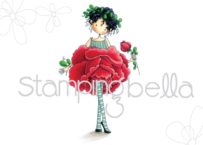 Stamping Bella - Tiny Townie Garden Girl Rose